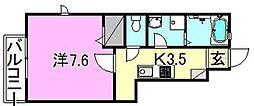 LUMIELE和泉[105 号室号室]の間取り