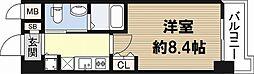 フローライト日本橋駅前[11階]の間取り