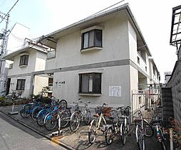 京都府京都市北区平野上柳町の賃貸アパートの外観