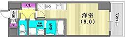 エスリード神戸海岸通[1203号室]の間取り