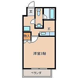ライトハウス木原[3階]の間取り