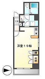 アル・ドウ・6[11階]の間取り