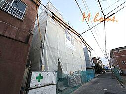 愛知県名古屋市中川区百船町の賃貸アパートの外観