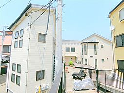 東京都大田区矢口3丁目の賃貸アパートの外観