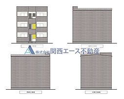 シティレジデンス鶴橋[3階]の外観