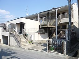 大阪府箕面市小野原西3丁目の賃貸アパートの外観