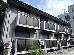 京都府京都市伏見区小栗栖岩ケ淵町の賃貸アパートの外観