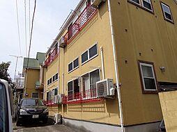 東京都板橋区小豆沢4丁目の賃貸アパートの外観