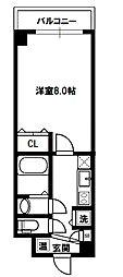 アドバンス新大阪CityLifeII[6階]の間取り