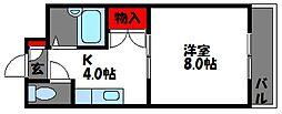グリーンピア原田[2階]の間取り