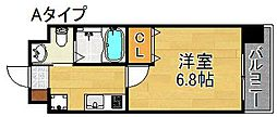 FDS Fiore[3階]の間取り