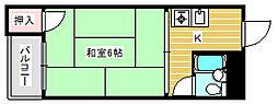 メゾン美也パート2[1階]の間取り