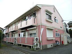 東京都羽村市神明台3丁目の賃貸アパートの外観