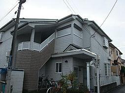 神奈川県横浜市港北区大倉山7丁目の賃貸アパートの外観