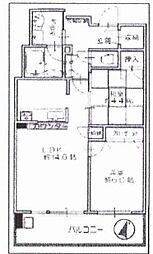 プレミスト江戸堀[5階]の間取り