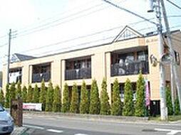 茨城県牛久市ひたち野東3丁目の賃貸アパートの外観