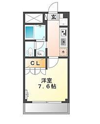 神奈川県川崎市多摩区宿河原2丁目の賃貸マンションの間取り