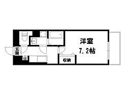 ウィル室町[1階]の間取り