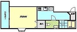 神奈川県秦野市本町1丁目の賃貸マンションの間取り