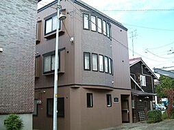 北海道札幌市中央区北6条西21丁目の賃貸アパートの外観