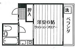 谷内コーポ[305号室]の間取り