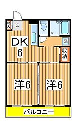 パインステージ[1階]の間取り