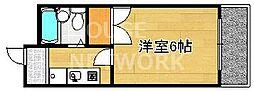 グレース紫竹[107号室号室]の間取り