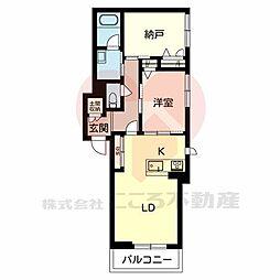 (仮称)堺市・北区シャーメゾン金岡町計画 2階1SLDKの間取り