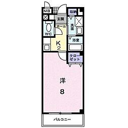 Mパレス[0101号室]の間取り