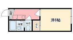 細江マンション[205号室]の間取り