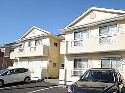 千葉県松戸市大金平3丁目の賃貸アパートの外観