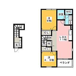 桜[2階]の間取り