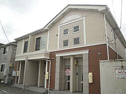愛媛県松山市中村2丁目の賃貸アパートの外観