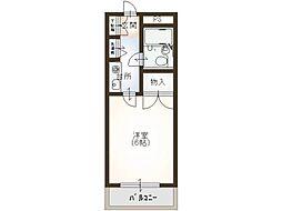 キリマンジャロハウス[1階]の間取り