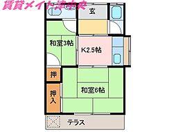 [一戸建] 三重県津市高茶屋3丁目 の賃貸【/】の間取り