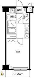 東武東上線 東武練馬駅 徒歩9分の賃貸マンション 3階1Kの間取り