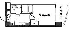 SEST新大阪[6階]の間取り