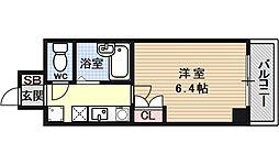 京都府京都市中京区妙満寺前町の賃貸マンションの間取り