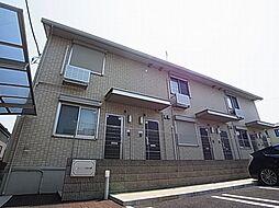 千葉県柏市大青田の賃貸アパートの外観