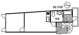 イケハウス[2階]の間取り
