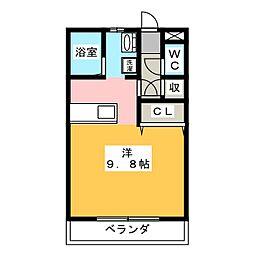 ロックフィールド[1階]の間取り