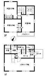 [一戸建] 東京都町田市小川4丁目 の賃貸【/】の間取り