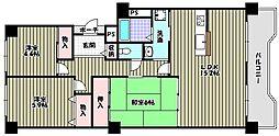 藤和さやまハイタウン[7階]の間取り