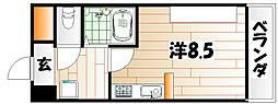 アンシャンテ浅生[3階]の間取り