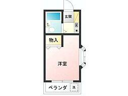 コーポ池田[2階]の間取り