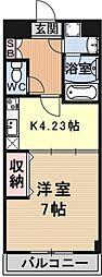 エンゼルプラザeast2[503号室号室]の間取り