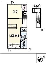 ネクストステージ II[2階]の間取り
