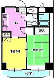 メゾンド・エトワール[2階]の間取り