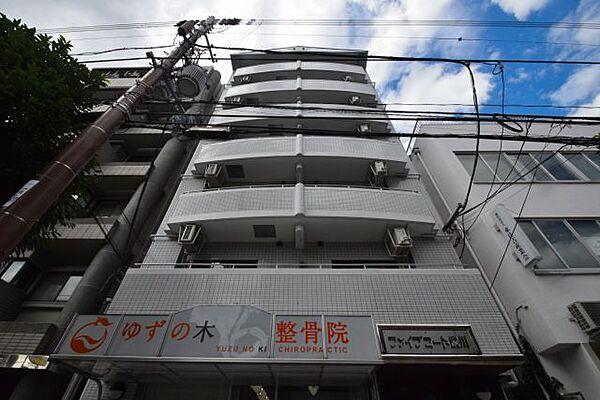 ファイブコート駒川[4階]の外観