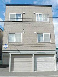 北海道札幌市白石区菊水七条2丁目の賃貸アパートの外観